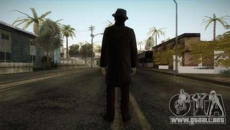 Sherlock Holmes v3 para GTA San Andreas tercera pantalla