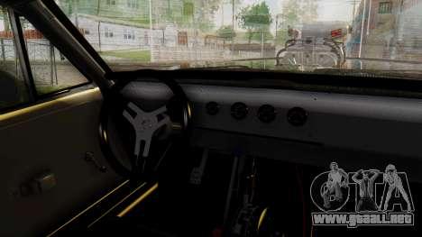 Dodge Charger RT 1970 Fast & Furious para la visión correcta GTA San Andreas