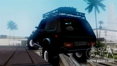 VAZ 2121 Niva Offroad para GTA San Andreas left