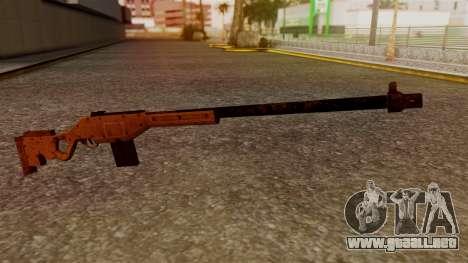 A Police Marksman Rifle para GTA San Andreas