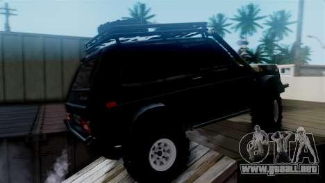 VAZ 2121 Niva Offroad para GTA San Andreas vista posterior izquierda