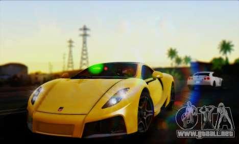 Smooth Realistic Graphics ENB 3.0 para GTA San Andreas twelth pantalla