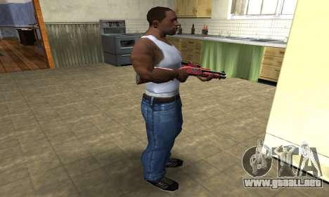 Blood Shotgun para GTA San Andreas tercera pantalla