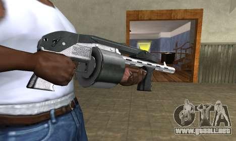 Silver Granate Combat Shotgun para GTA San Andreas