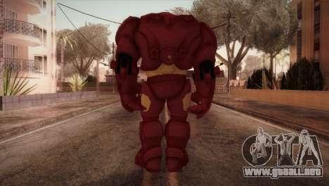Classic Hulkbuster para GTA San Andreas tercera pantalla