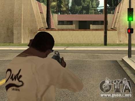 Cleo Weapon Zoom para GTA San Andreas tercera pantalla