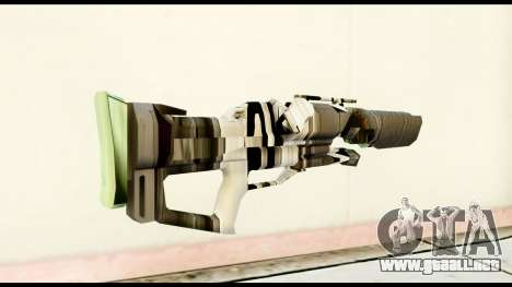 Rocket Launcher from Crysis 2 para GTA San Andreas segunda pantalla