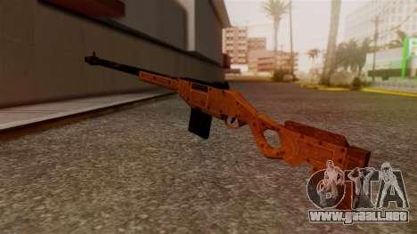 A Police Marksman Rifle para GTA San Andreas segunda pantalla