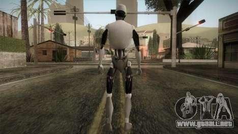 I am a Robot Skin para GTA San Andreas tercera pantalla