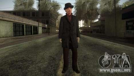 Sherlock Holmes v2 para GTA San Andreas segunda pantalla