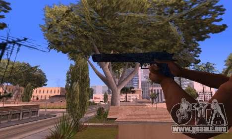 Deagle Blue para GTA San Andreas tercera pantalla