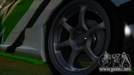 Nissan Skyline GT-R R32 para la visión correcta GTA San Andreas
