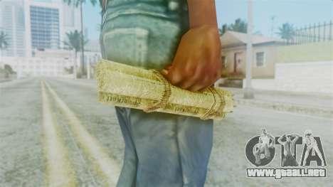 Red Dead Redemption Satchel para GTA San Andreas segunda pantalla