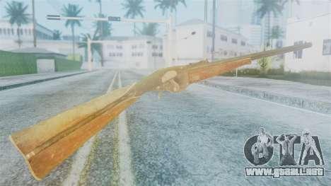 Red Dead Redemption Rifle para GTA San Andreas segunda pantalla
