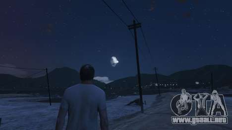 GTA 5 DeathStar Moon v3 Incomplete Deathstar tercera captura de pantalla