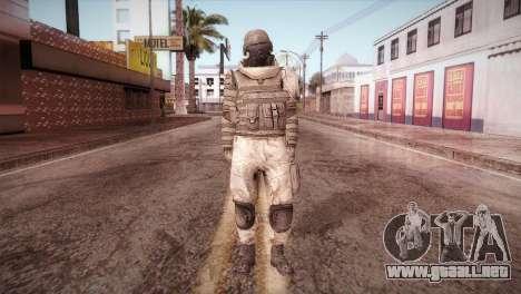 Armored Soldier para GTA San Andreas segunda pantalla