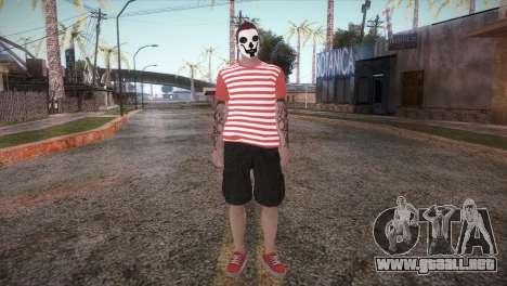 GTA Online Skin para GTA San Andreas segunda pantalla