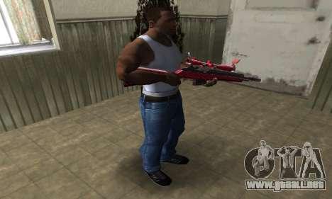 Red Romb Sniper Rifle para GTA San Andreas tercera pantalla