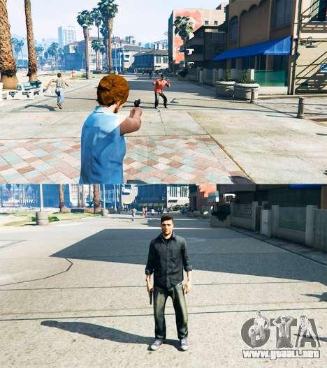 GTA 5 Ped Transform v0.2 tercera captura de pantalla