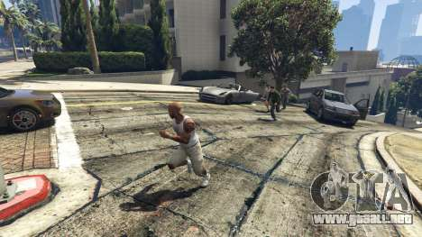 GTA 5 AngryPeds tercera captura de pantalla