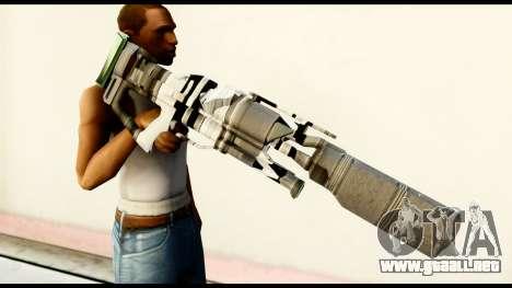 Rocket Launcher from Crysis 2 para GTA San Andreas tercera pantalla