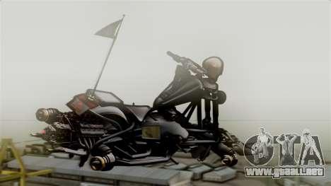 Hexer Moto Jet para GTA San Andreas left