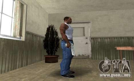Cool Silver Deagle para GTA San Andreas tercera pantalla