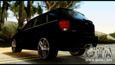 Jeep Grand Cherokee SRT8 Restyling M Final para GTA San Andreas left