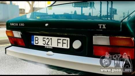 Dacia 1310 Carrera para la visión correcta GTA San Andreas