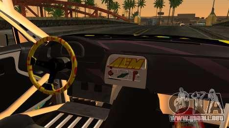 Nissan Silvia S14 Kouki Matt Faileds para GTA San Andreas vista posterior izquierda
