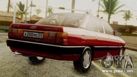 Audi 200 Quattro para GTA San Andreas left