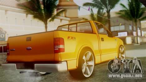 Ford F-150 Sport para GTA San Andreas left
