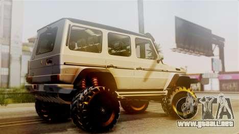 Mercedes-Benz G500 4x4 para GTA San Andreas left
