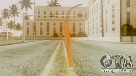 Red Dead Redemption TNT Sergio para GTA San Andreas