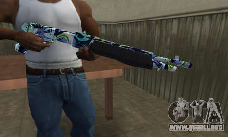 Limeyond Combat Shotgun para GTA San Andreas