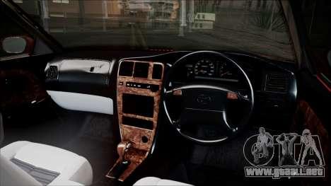 Toyota Mark II X90 para la visión correcta GTA San Andreas