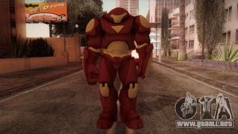 Classic Hulkbuster para GTA San Andreas segunda pantalla