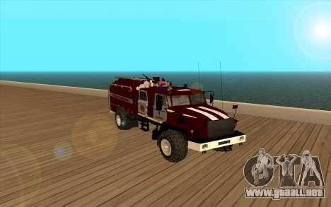 Ural 5557-40 el Ministerio de situaciones de eme para GTA San Andreas