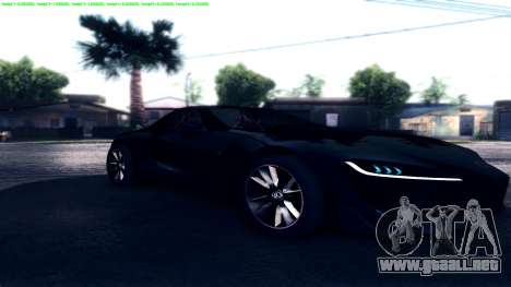 Dark ENB Series para GTA San Andreas sucesivamente de pantalla