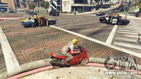GTA 5 Police Chase Random Event segunda captura de pantalla