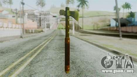 Tomahawk from Silent Hill Downpour para GTA San Andreas segunda pantalla