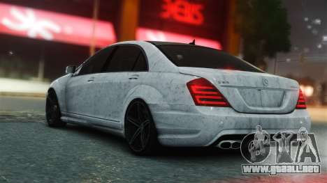 Mercedes-Benz S65 AMG Vossen para GTA 4 left