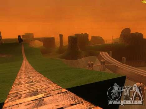 Verde del desierto de Las Venturas v2.0 para GTA San Andreas tercera pantalla