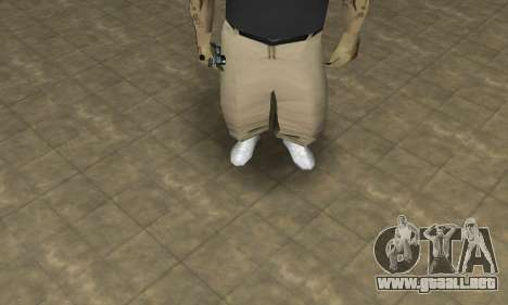 Rifa Skin Third para GTA San Andreas segunda pantalla