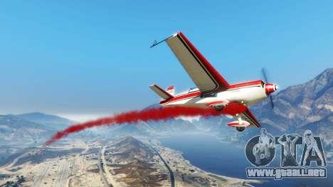 GTA 5 El humo de los aviones v1.2
