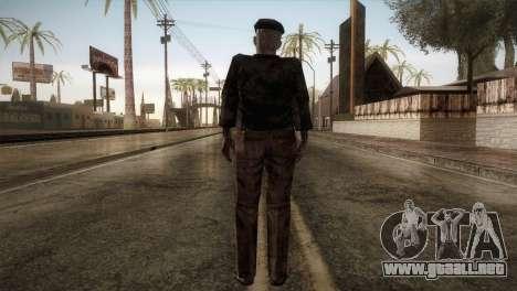 RE4 Don Diego without Hat para GTA San Andreas tercera pantalla
