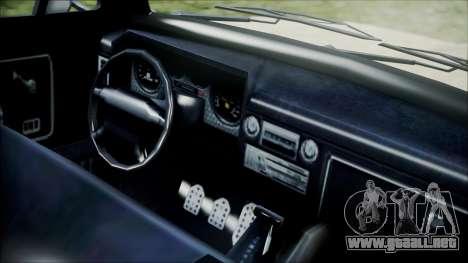 GTA 5 Vapid Slamvan para la visión correcta GTA San Andreas