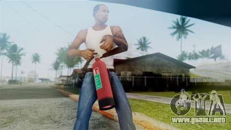Fire Extinguisher from GTA 5 para GTA San Andreas tercera pantalla