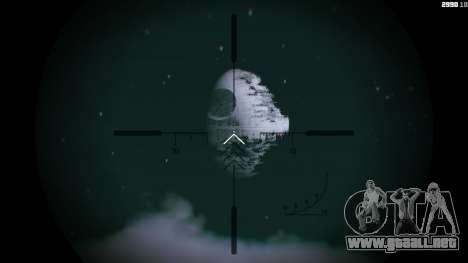 GTA 5 DeathStar Moon v3 Incomplete Deathstar segunda captura de pantalla