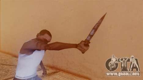 Nurse Knife para GTA San Andreas tercera pantalla